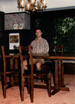 David Fay with table and chairs